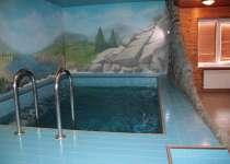 Баня Заветный остров Второй зал