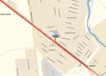 Сауна «Русич» Карта проезда