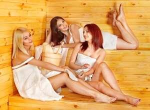 Молодые в сауне, русские молодые девушки в сауне